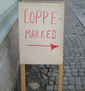 Loppemarked @ Eiksmarka skole