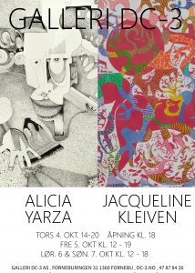 Jacqueline Kleiven og Alicia Yarza @ Galleri DC-3 AS | Akershus | Norge