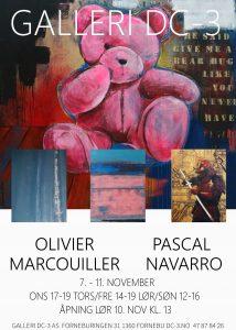 Kunst: Olivier Marcouiller og Pascal Navarro @ Galleri DC-3 | Akershus | Norge