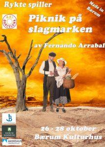 "Teater: ""Piknik på slagmarken"" @ Bærum Kulturhus | Akershus | Norge"