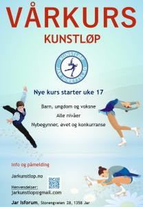 Kurs i kunstløp @ Jar Kunstløp Skøyteskole
