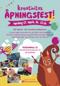 Kreativitas Åpningsfest! @ Kreativitas