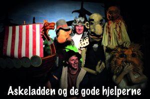 Barneteater: Askeladden og de gode hjelperne @ Bærum bibliotek, Høvik