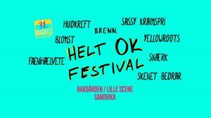 Helt OK Festival 2019 @ Bakgården