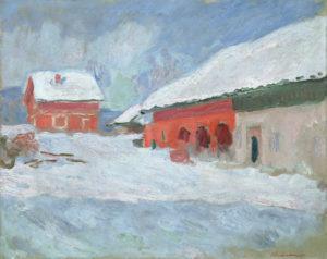 Kurs i akvarellmaling på Bjørnegård @ Claude Monet i Sandvika 1895-2020