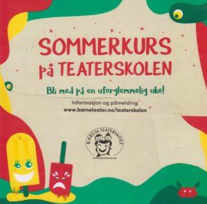 Sommerkurs på Teaterskolen @ Bærum Teaterskole